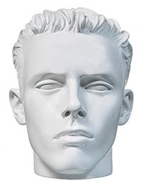 Male Display Head White (MDH-040)