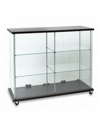 Semi Frameless Shop Counters (SC-1545 Front View)