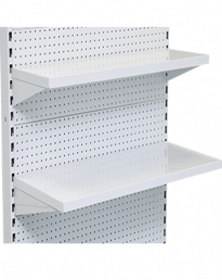 Gondola Bay Metal Steel Shelves