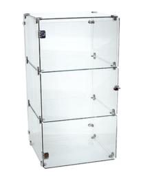 Cube 3 Mini Counter Top Glass Display (CUBE-3MINI)