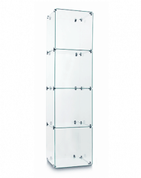 Cube 4 Glass Display Tower (CUBE-4T)
