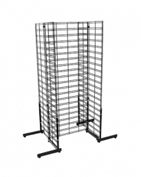 H-Shape Modular Gridmesh Gondola Stands – 600mm(L) 1