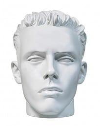 Male Display Head White (MDH-040-W)