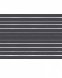 Storm (Charcoal) Slat Panel 1