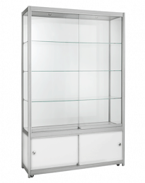 Aluminium Framed Display Case Units