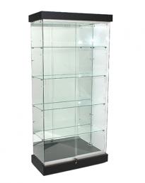 Frameless Glass Display Shop Showcases