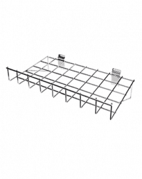 Slat Panel Wire Baskets And Shelves
