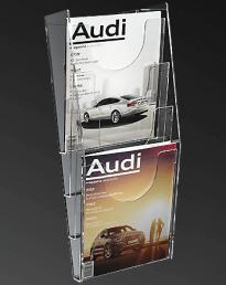 A4 Wall Mount Brochure Holders (IAC-3008)
