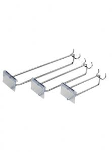 Flat Metal Panel Flipper Scan Hooks (IFH-FP+RF80)