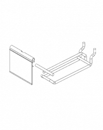 Loop Flipper Scan Pegboard Slat Panel Hooks (ILFH+RF80)