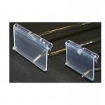 Mesh Flipper Scan Display Hooks (Clear Flippers)