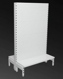 STARTER Double Sided Volcano Pegboard Back 300mm