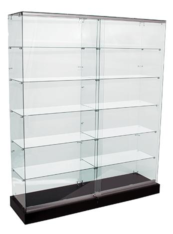 Frameless Glass Shop Display Showcases 1500mm Amp 1800mm