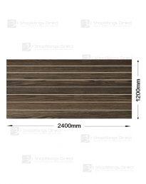 Modern Oak Woodgrain Slatwall (CSW7MO)