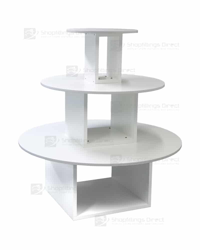 Round Display Tables Shopfittings Direct Australia