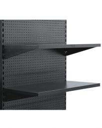 Hammertone Flat pegboard Shelves