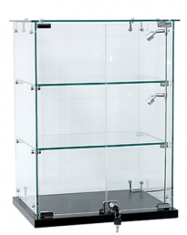 Premium Wide Countertop Display Case